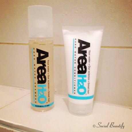 Area H2O for Hard Water Area shampoo & conditioner review