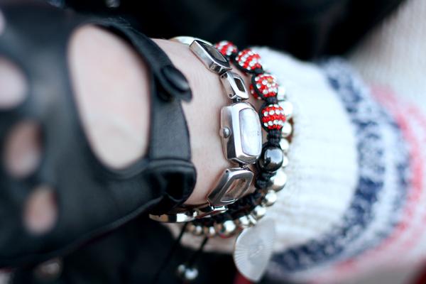 Cutey shamballa bracelet