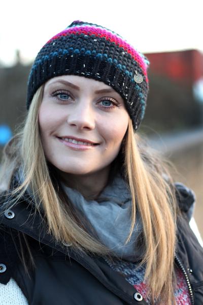 Winter knitwear hat