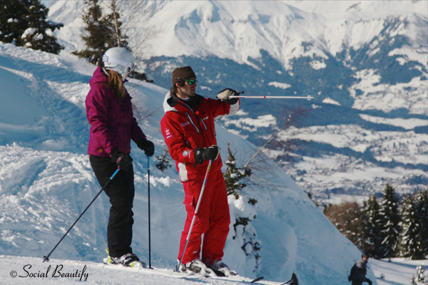 Social Beautify with ESF ski insturctror