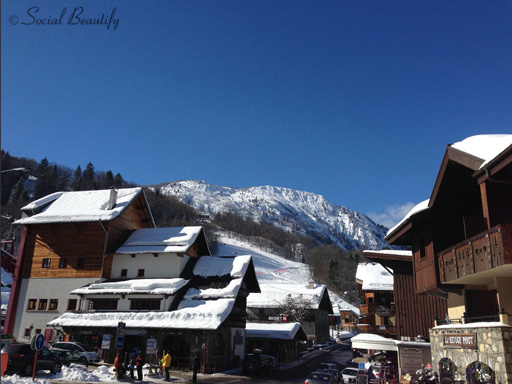Les Houches highstreet