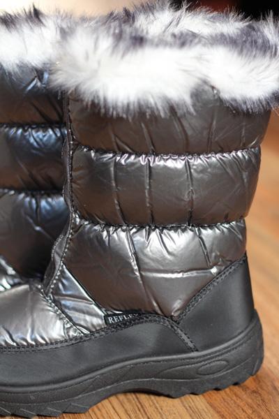 Urshou Snow Boots - Plastic Fantastic