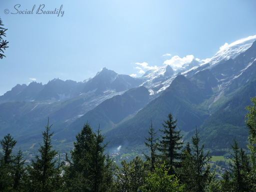 View of the Alps- Les Houches