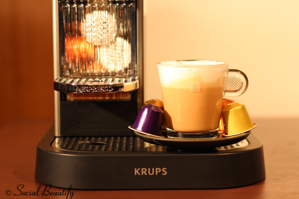 Nespresso coffee and capsules