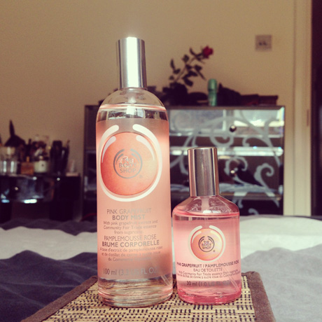 The Body Shop summer spritz