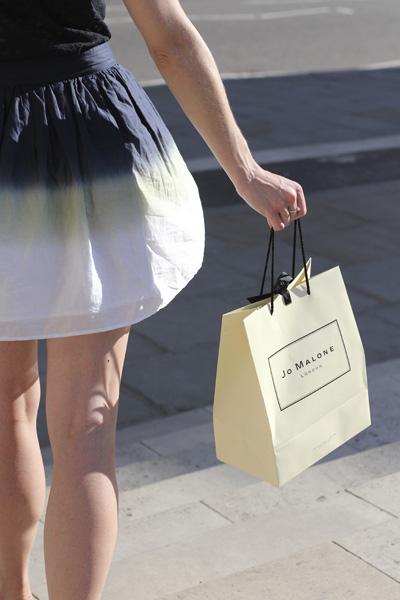 Shopping at Jo Malone