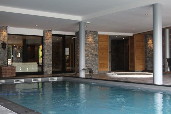 Les Granges d'en Haut the pool