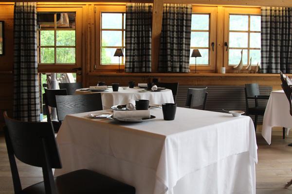 The Restaurant Les Granges d'en Haut